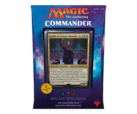 Commander 2017 Deck - Arcane Wizardry (Blue, Black, Red)
