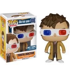 Doctor Who Tenth Doctor Hot Topic Exclusive Pop Vinyl Figure
