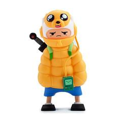 Adventure Time Puff Jake N Lil Finn Med Figure
