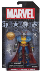Marvel Infinite Series Death's Head 3 3/4-Inch Action Figure