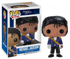 Rock Micheal Jackson Purple Jacket Pop Vinyl Figure