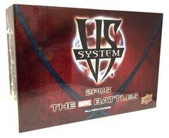 Vs System: Marvel Set Upper Deck 2PCG The Marvel Battles