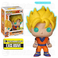 Dragon Ball Z GID Super Saiyan Goku Exclusive Pop! Vinyl Figure