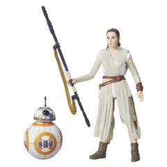 Star Wars The Forced Unleashed Rey (Jakku) & BB-8 6 Inch The Black Series Figure