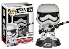 Star Wars The Forced Unleashed First Order Stormtrooper Amazon Exclusive Pop Vinyl Figure