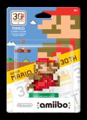 Nintendo Classic Color 30th Anniversary Super Mario Amiibo Figure