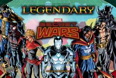 Legendary Marvel Secret Wars Vol. 1 Deck Building Card Game
