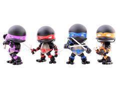 Loyal Subjects SDCC 2015 Exclusive Teenage Mutant Ninja Turtles TMNT Stealth Mini Four Pack