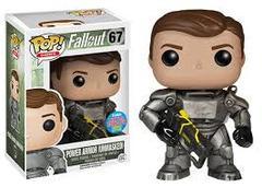 Fallout Power Armor Unmasked NYCC Exclusive Pop Vinyl Figure