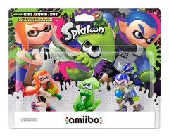 Nintendo Splatoon 3-Pack Amiibo