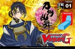 Cardfight Vanguard Touken Ranbu Booster Box