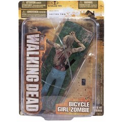 The Walking Dead TV Series 2 Bicycle Girl Zombie Action Figure