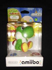Nintendo Green Yarn Yoshi Amiibo Figure