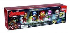 Details about  SDCC 2015 Marvel Avengers Age of Ultron 5-Piece Mini Figure Exclusive Box Set