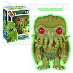 Cthulhu GID Entertainment Earth Exclusive Pop Vinyl Figure