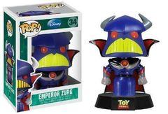 Disney Toy Story Emperor Zurg Pop Vinyl Figure