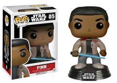 Star Wars Finn with Lightsaber Pop Vinyl Figure