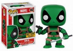 Marvel Deadpool Solo Green Exclusive Mystery Pop Vinyl Figure 142