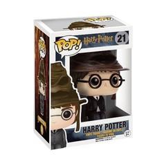 Harry Potter in Sorting Hat Pop Vinyl Figure
