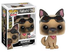 Fallout 4 Flocked Dogmeat Game Stop Exclusive Pop Vinyl Figure