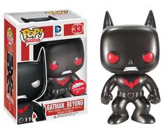 DC Metallic Batman Beyond Pop Vinyl Figure