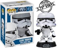 Star Wars Clone Trooper Original Blue Packaging Pop Vinyl Figure