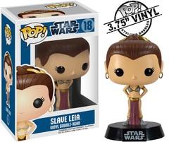 Star Wars Slave Leia Original Packaging Pop Vinyl Figure