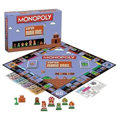 Super Mario Bros Classic Monopoly Game