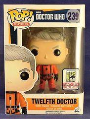Doctor Who Twelfth Doctor 2015 SDCC Exclusive Pop Vinyl Figure