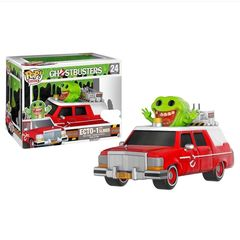 Ghostbusters Red Ecto-1 w/ Slimer Pop Rides