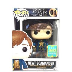Fantastic Beasts Newt Scamander Summer Exclusive Pop Vinyl Figure