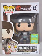 Gears of War Marcus Fenix w/ Gold Lancer Summer Exclusive Pop Vinyl Figure