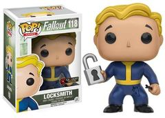 Fallout Locksmith Play & Collect Exclusive Pop Vinyl Figure