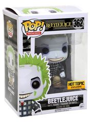 Beetlejuice Hot Topic Exlcusive Pop Vinyl FIgure