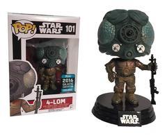 Star Wars 4-Lom Exclusive Pop Vinyl FIgure