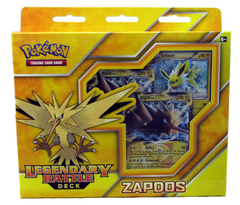 Legendary Battle Decks: Zapdos-EX Theme Deck