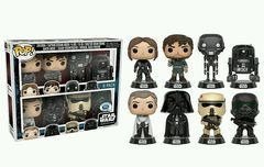 Star Wars Rogue One Disney Store Exclusive 8-Pack Pop VInyl Figures