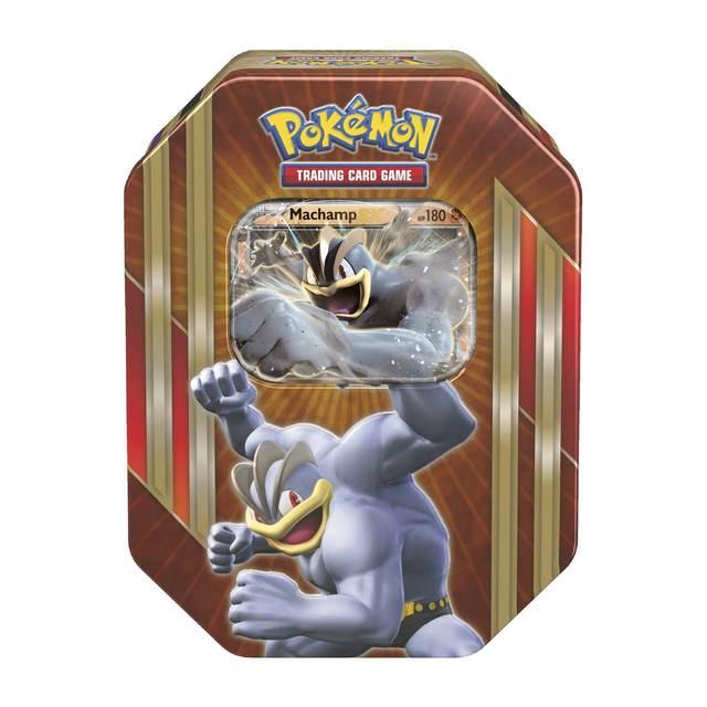 Pokemon Machamp EX Tin