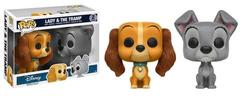 Disney Lady and the Tramp 2-Pack Pop Vinyl Figures
