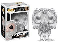 Fantastic Beasts Clear Demiguise Amazon Exclusive Pop Vinyl Figure