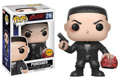 Daredevil Punisher CHASE Pop! Vinyl Figure