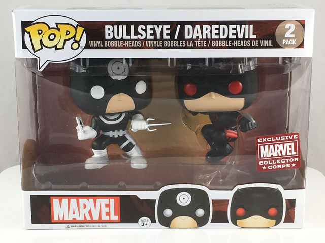 Marvel Bullseye / Daredevil 2-Pack Pop Vinyl Figure