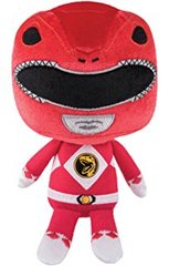 ower Rangers Mighty Morphin Hero Plushies 8 inch Stuffed Figure - Red Ranger