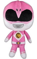 ower Rangers Mighty Morphin Hero Plushies 8 inch Stuffed Figure - Pink Ranger