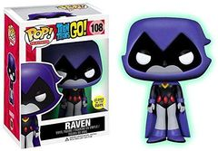 Teen Titans Go! GID Raven Toys R Us Exclusive Pop Vinyl Figure