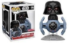 Star Wars Darth Vader w/ Tie Fighter Target Exclusive Pop Vinyl Figure
