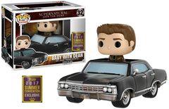 Supernatural Baby Impala with Dean Summer 2017 Exclusive Pop Vinyl Figure