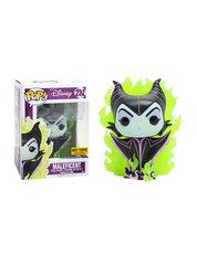 Disney Villains Maleficent CHASE Green Flames Hot Topic Exclusive Pop Vinyl Figure
