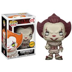 Stephen King's It Pennywise CHASE Clown Pop! Vinyl Figure #472