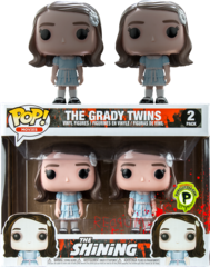 The Shining The Grady Twins Exclusive Pop Vinyl 2-Pack